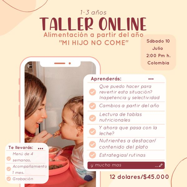 Imagem principal do produto Alimentacion infantial 1-3 años