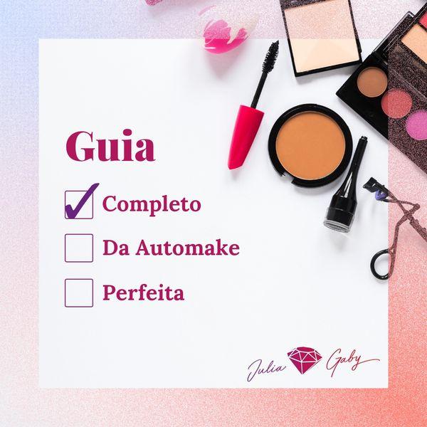 Imagem principal do produto Guia Completo Da Automaquiagem