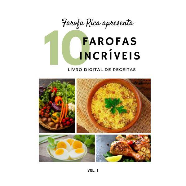 Imagem principal do produto Farofas Incríveis - Ebook de Receitas