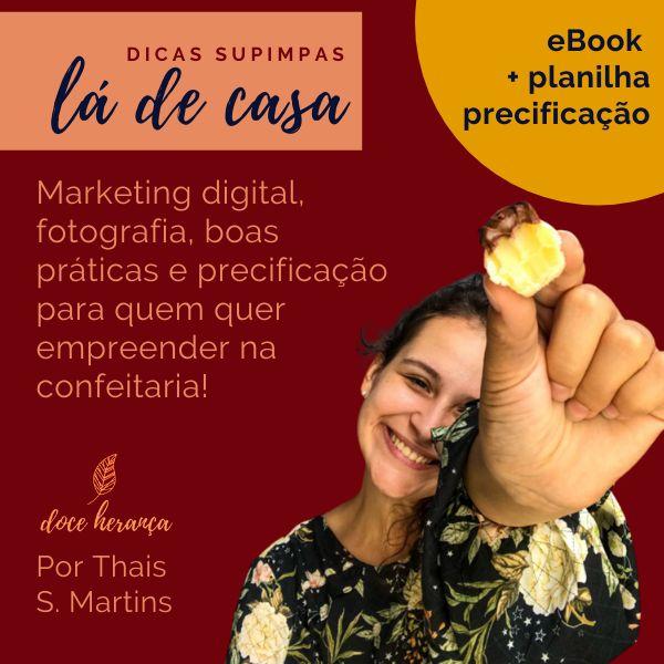 Imagem principal do produto Dicas Supimpas Lá de Casa: Compre a planilha de precificação e ganhe o eBook!