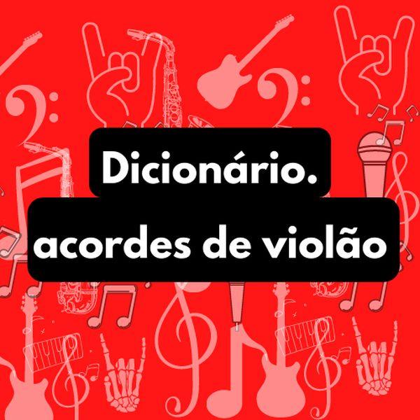 Imagem principal do produto Dicionário. acordes de violão