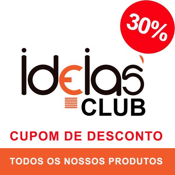 Imagem principal do produto Cupom Desconto Ideias'Club