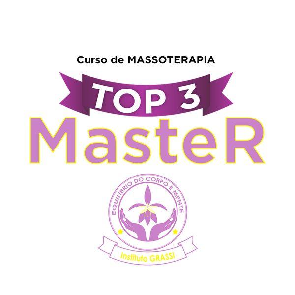 Imagem principal do produto Curso Top 3 Master de Massoterapia - Seja um profissional de Sucesso! Comece do zero !