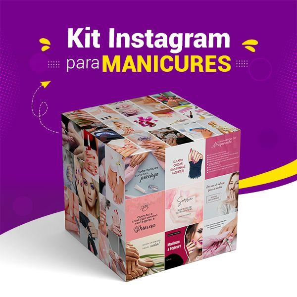 Imagem principal do produto Kit Instagram para Manicures
