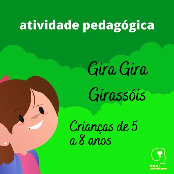 Imagem principal do produto Gira Gira Girassóis - Representação de quantidade faltante