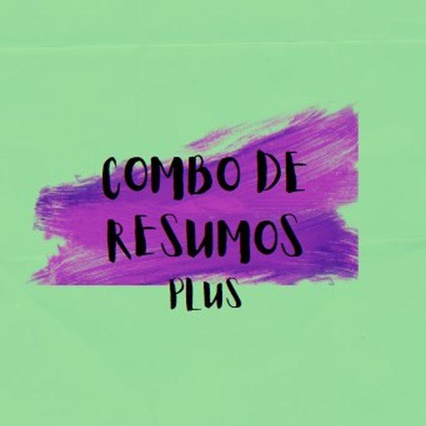 Imagem principal do produto COMBO DE RESUMOS PLUS