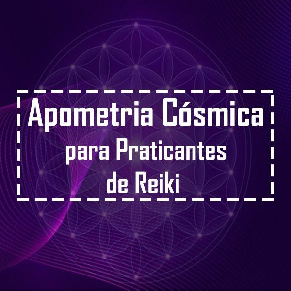 Imagem principal do produto Apometria Cósmica para Praticantes de Reiki