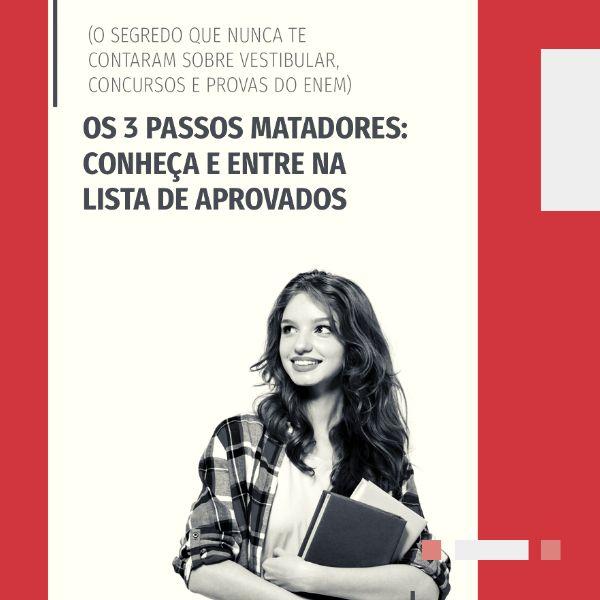 Imagem principal do produto O Mestre dos Estudos - Vestibular, Concursos, ENEM