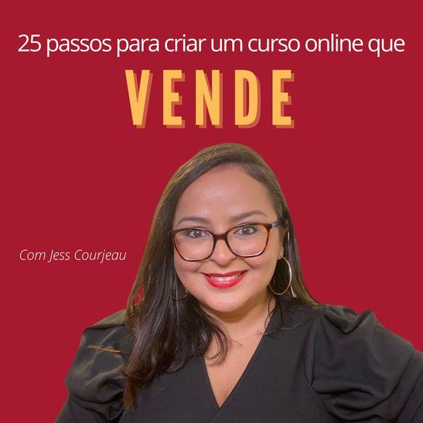 Imagem principal do produto 25 passos para criar um curso online que vende
