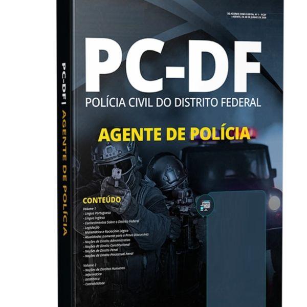 Imagem principal do produto Apostila PCDF - Agente de Polícia