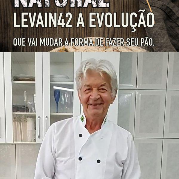 Imagem principal do produto LEVAIN42 A EVOLUÇÃO DO FERMENTO NATURAL PRONTO EM 42 HORAS