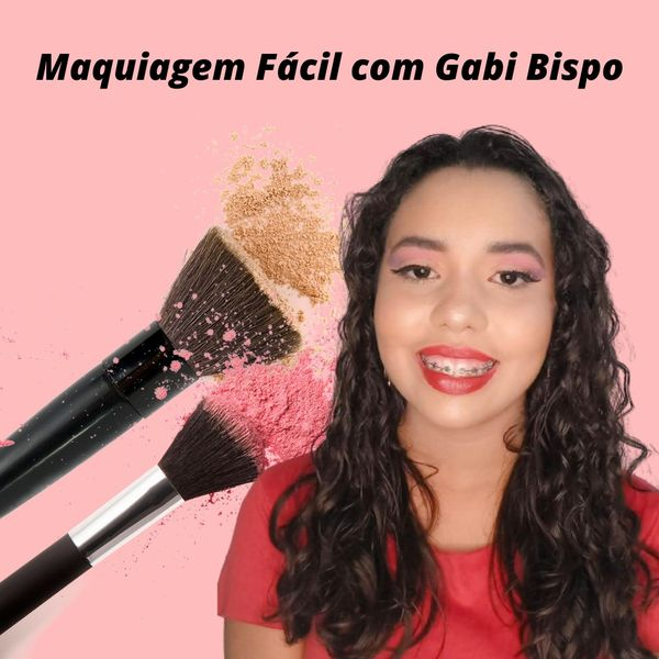 Imagem principal do produto Maquiagem Fácil com Gabi Bispo
