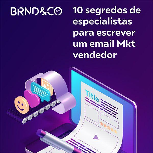 Imagem principal do produto 10 Segredos de especialistas para escrever um e-mail Marketing Vendedor
