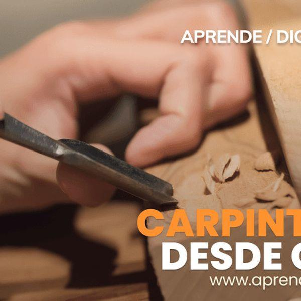 Imagem principal do produto CARPINTERIA DESDE CERO