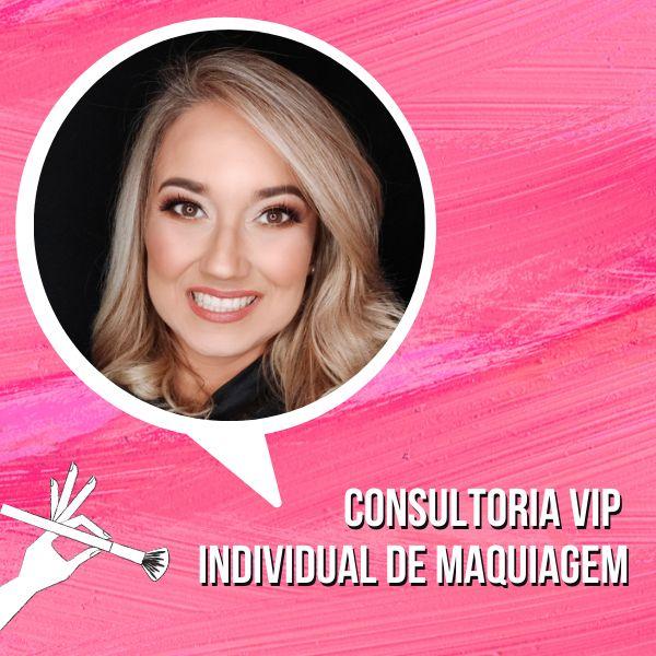 Imagem principal do produto Consultoria VIP  Online Individual de Maquiagem