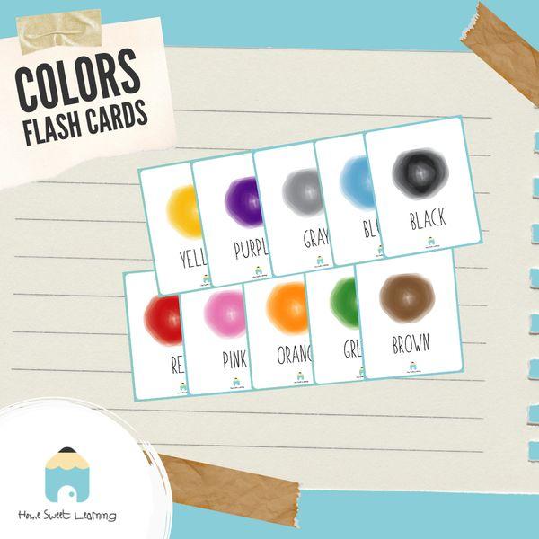 Imagem principal do produto Flashcards - Colors