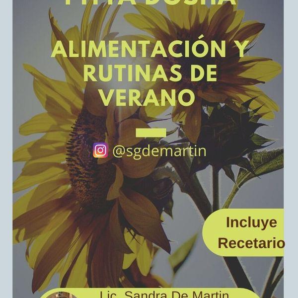 Imagem principal do produto Ebook sobre Ayurveda: Alimentación y rutinas ayurvédicas para el verano.