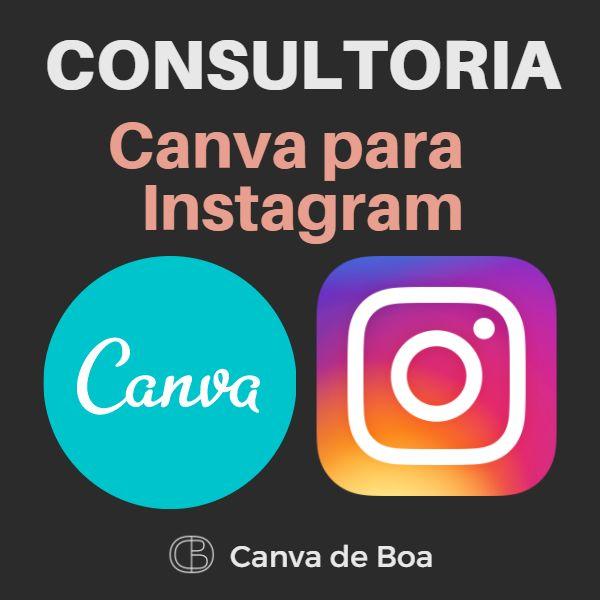 Imagem principal do produto Consultoria - Canva para Instagram