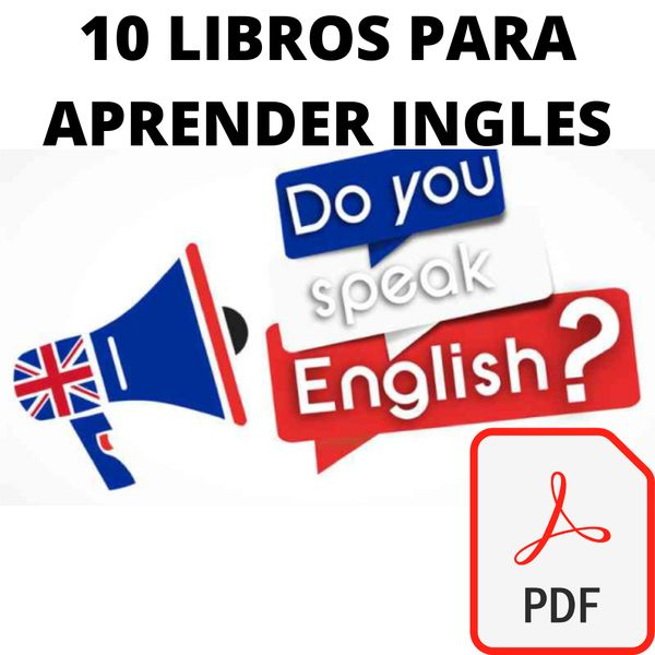 Imagem principal do produto 10 LIBROS PARA APRENDER INGLES