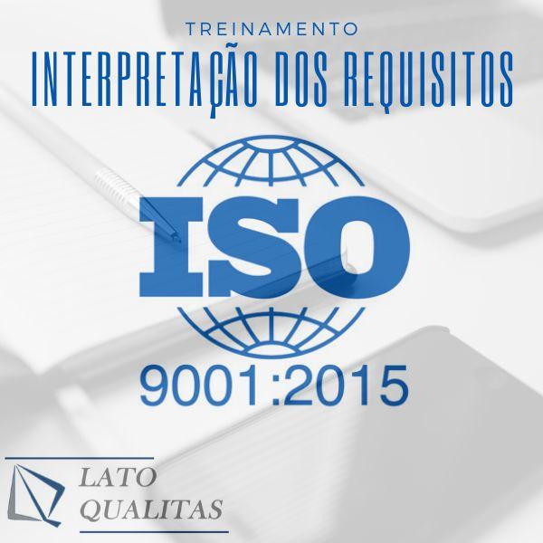 Imagem principal do produto ISO9001:2015 - Curso de Interpretação dos Requisitos - Sistemas de Gestão da Qualidade