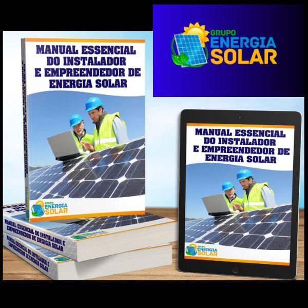 Imagem principal do produto Manual Essencial do Instalador e Empreendedor de Energia Solar