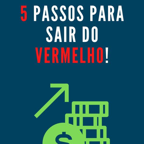 Imagem principal do produto 5 passos para sair do VERMELHO!