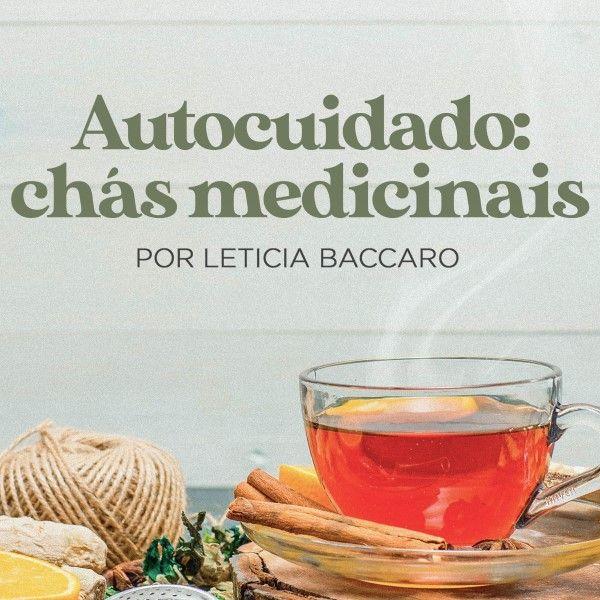 Imagem principal do produto Autocuidado: Chás Medicinais (guia prático + lista de plantas)