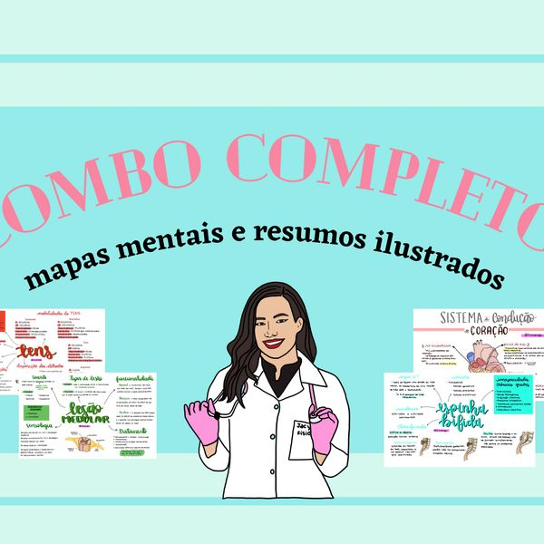 Imagem principal do produto Combo completo @fisiomiga_