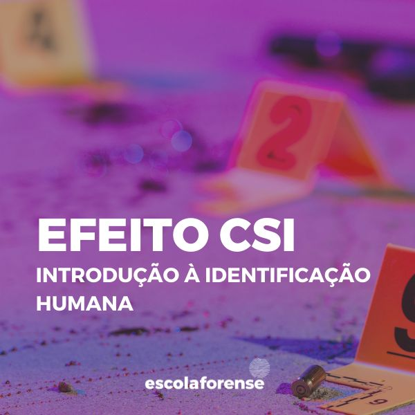 Imagem principal do produto Efeito CSI - Introdução à Identificação Humana