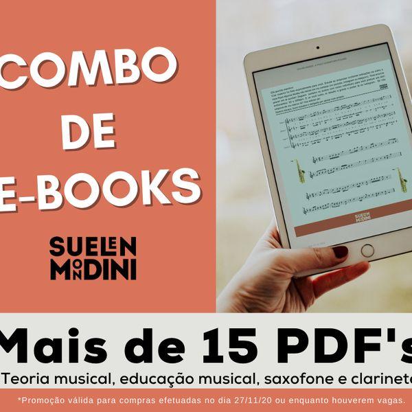 Imagem principal do produto COMBO DE E-BOOKS