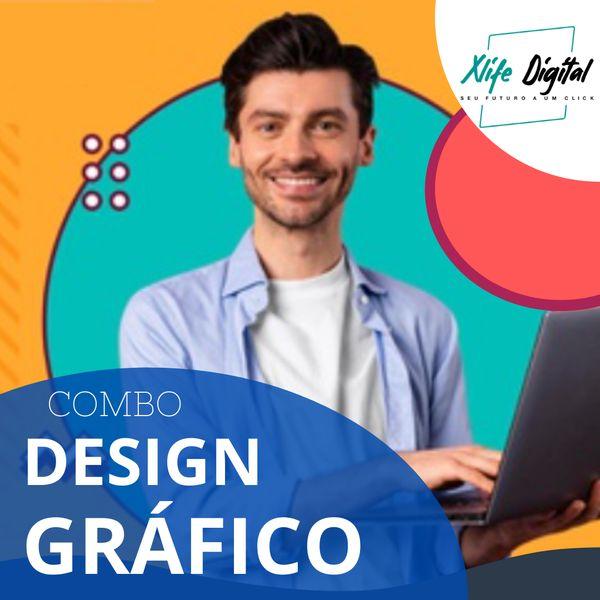 Imagem principal do produto Curso Design Gráfico - COMBO