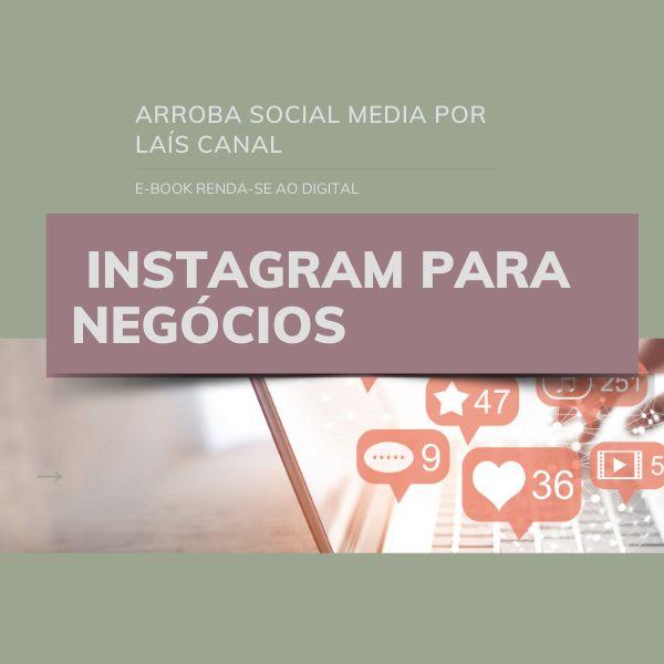 Imagem principal do produto E-book Instagram para Negócios