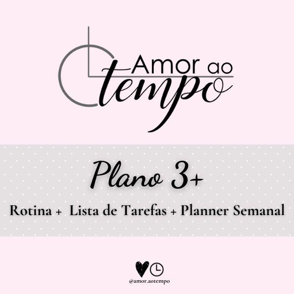 Imagem principal do produto Amor ao Tempo Plano 3+