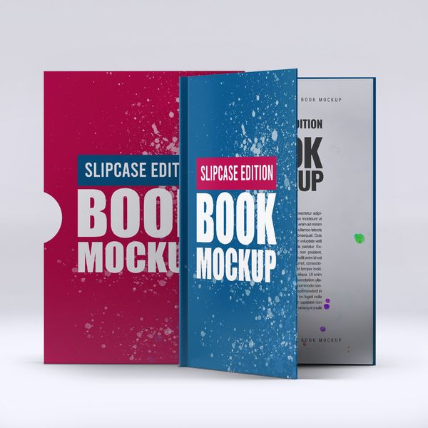 Imagem principal do produto Capa e-Book Magnético - Book Cover Mockup #3 - PSD 100% Editável