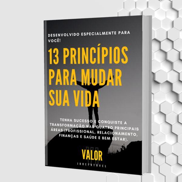 Imagem principal do produto 13 Princípios para mudar sua vida