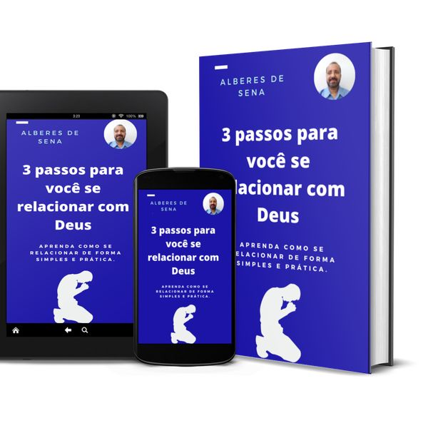 Imagem principal do produto 3 PASOS PARA VOCÊ SE RELACIONAR COM DEUS