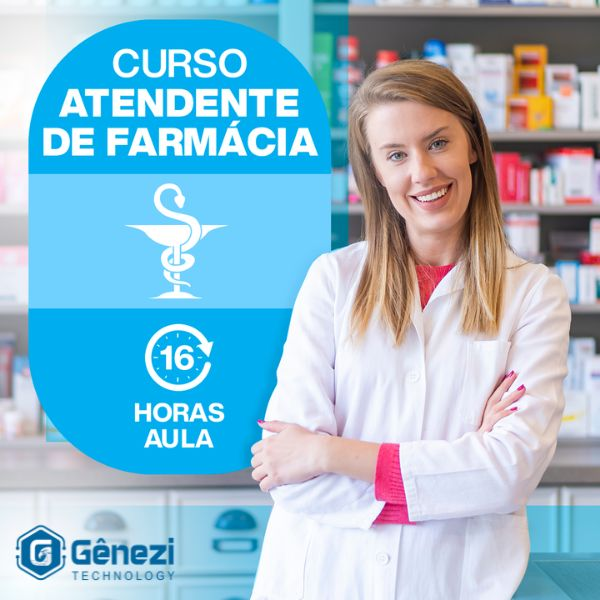 Imagem principal do produto Curso Atendente de Farmácia