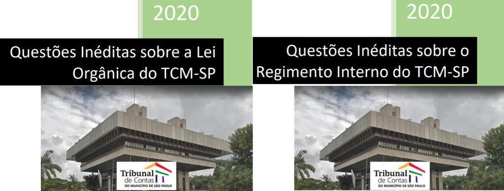 419 Questões Inéditas sobre a Legislação Específica do TCM-SP