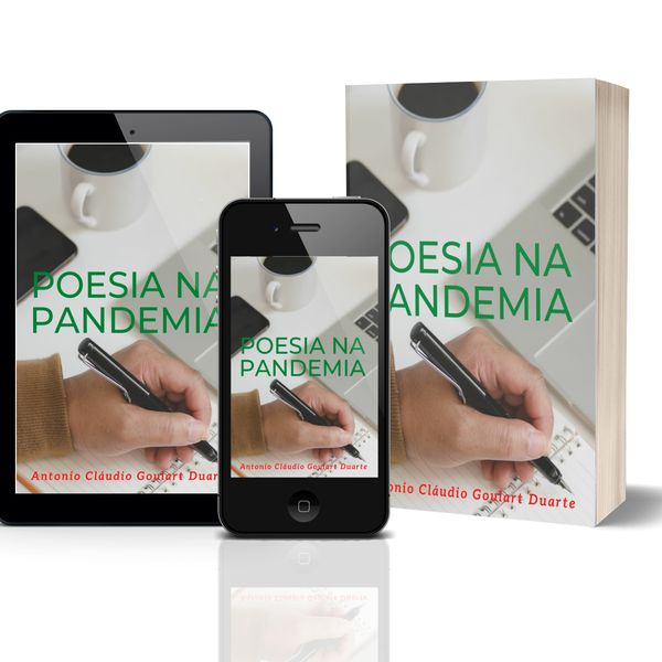 Imagem principal do produto Ebook Poesia na Pandemia