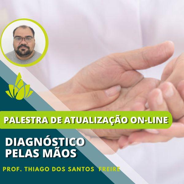 """Imagem principal do produto Ambulatório On-line """"Diagnóstico pelas Mãos"""""""