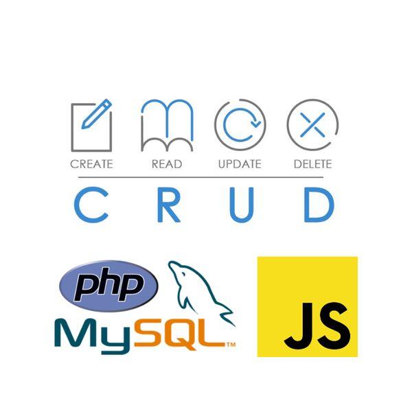 Imagem principal do produto CRUD con PHP, MySQL y JS en el Modelo MVC