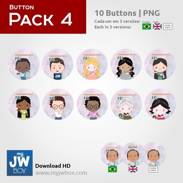 Imagem principal do produto Buttons em PNG - ButtonPack0004