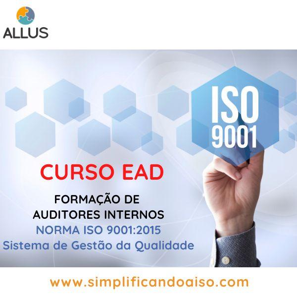 Imagem principal do produto FORMAÇÃO DE AUDITORES INTERNOS: ISO 9001:2015