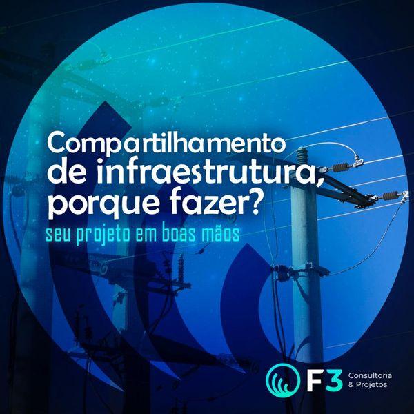 Imagem principal do produto F3 - Ebook -  Compartilhamento de infraestrutura, porque fazer?