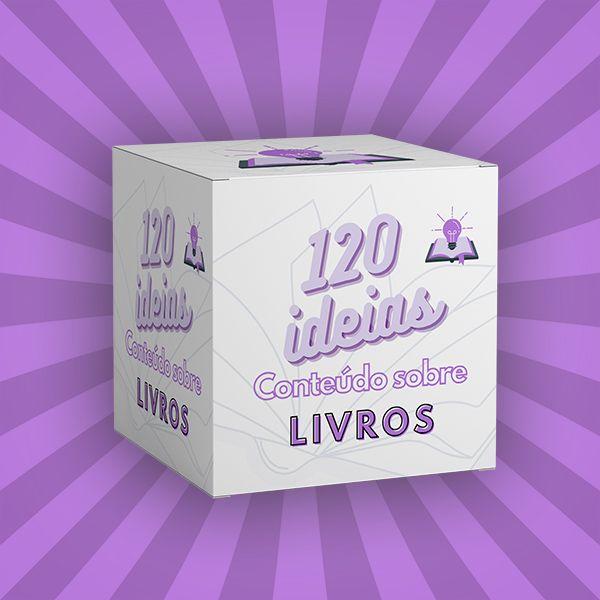 Imagem principal do produto 120 ideias de conteúdo sobre Livros