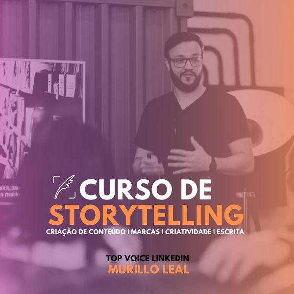 Imagem principal do produto Curso completo de Storytelling
