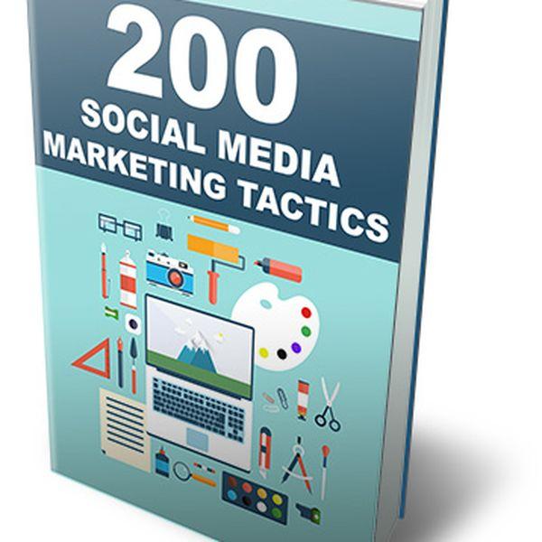 Imagem principal do produto 200 Social Media Marketing Tactics