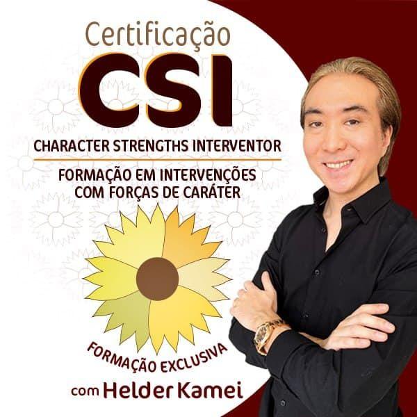 Imagem principal do produto Certificação CSI - Character Strengths Interventor - Formação em Intervenções com Forças de Caráter