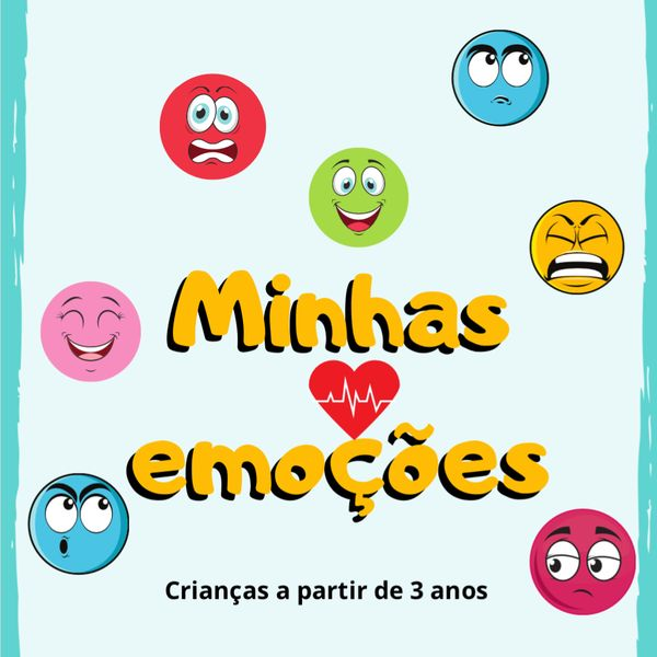 Imagem principal do produto Caderno de atividades: Minhas emoções