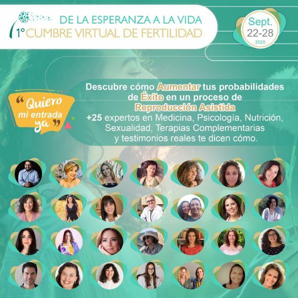 Imagem principal do produto Cumbre Fertilidad, de la Esperanza a la Vida